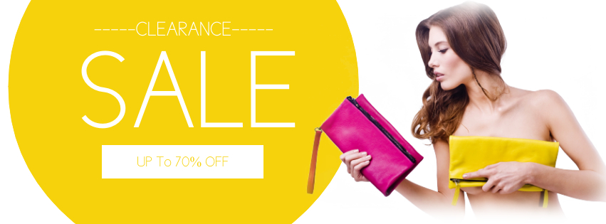 Copy of Sale Retail Fashion Facebook Cover Template - Made with PosterMyWall